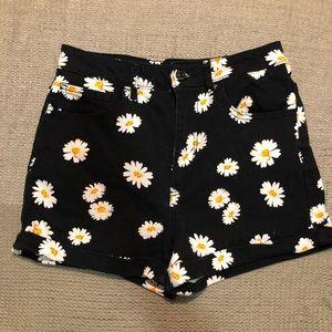 Forever21 High Waisted Daisy shorts